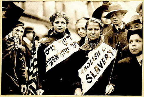 Abolish Child Slavery in Yiddish, 1909