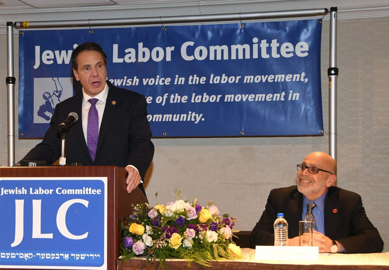 Governor Cuomo and JLC President Appelbaum.JPG
