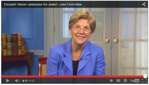 Senator Elizabeth Warren Addresses JLC March 19 2015.jpg