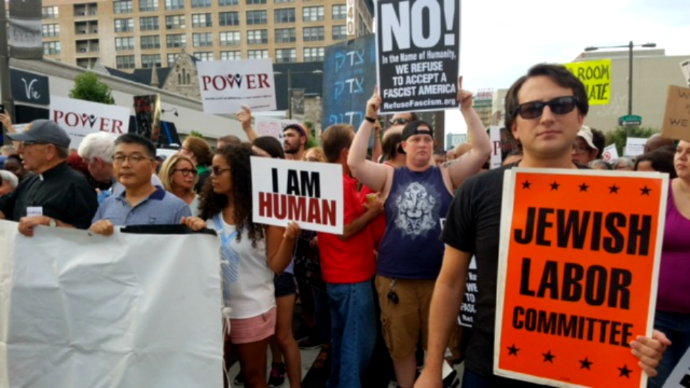 Thousands Gather for Philly is Charlottesville Protest August 16 2017.jpg